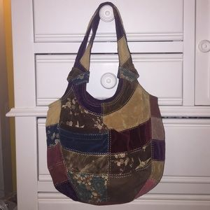 Lucky Brand Patchwork Purse