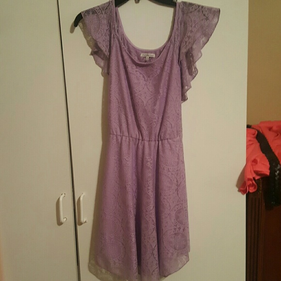 61d29984040c Charlotte Russe Dresses | Purple Lace Dress | Poshmark