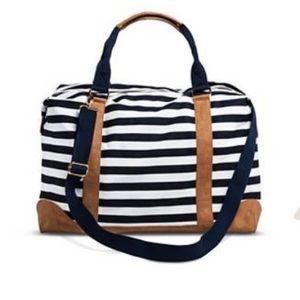 Handbags - Striped Weekender Bag