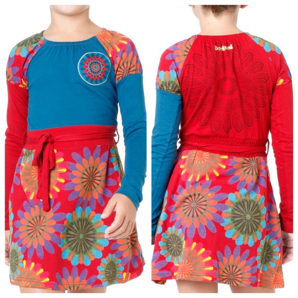 Desigual Other - Desigual Flower 🌺 Power Patchwork Dress f239e819514