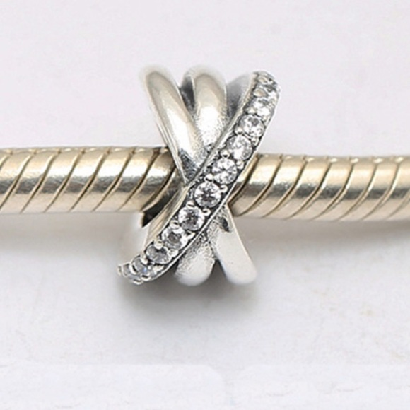 303398479 switzerland 2 pandora galaxy clear cz spacer charms firm price 89a49 9e2c7