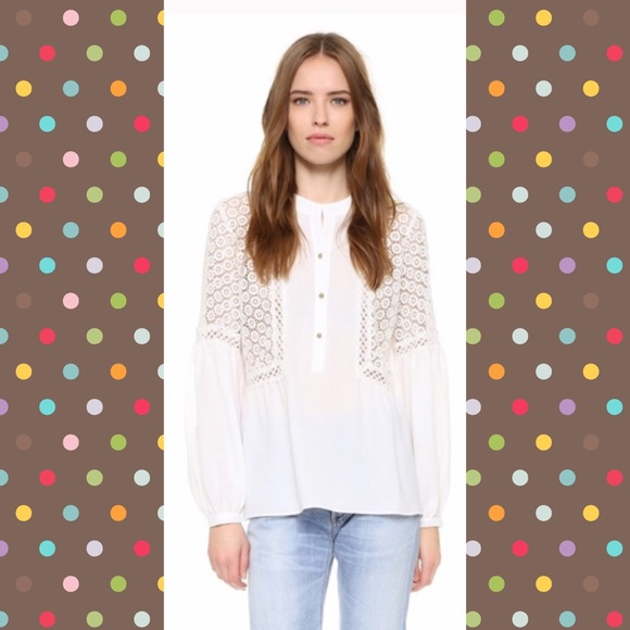 Twelth St By Cynthia Vincent Tops Pretty White Blouse With