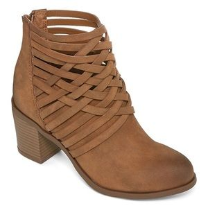 Shoes - New! Orlando Woven Ankle Booties, sz. 6.5