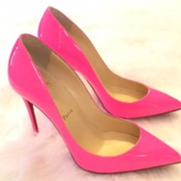 promo code 3e4b0 fd040 ❤Shocking Pink Christian Louboutin So Kate Pumps❤️ NWT