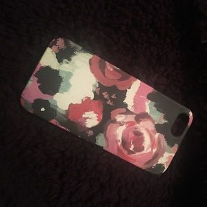 Mara Mi Accessories - Abstract floral iPhone 5S case