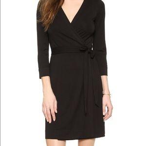 Sexy figure flattering wrap dress, wardrobe staple