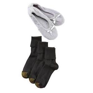 Gold Toe Accessories - GOLD TOE SOCKS & SLIPPERS