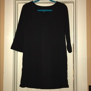 Black Dress 3/4 sleeve