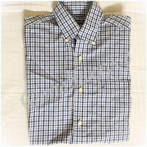 Nautica Other - {Nautica} Men's Plaid Short-Sleeve Buttoned Shirt