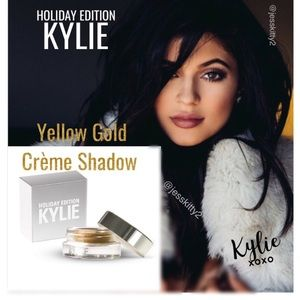 Kylie Cosmetics Other - KYLIE Yellow Gold Crème Shadow