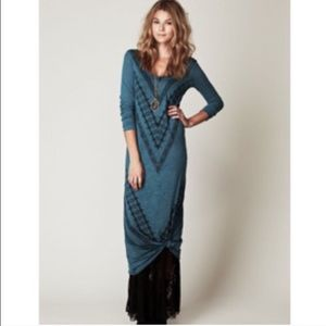 Free people turquoise patter