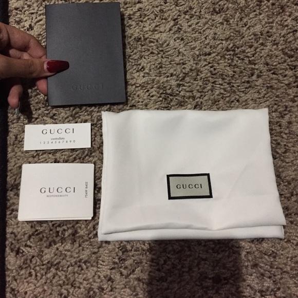b43add3782b6df Gucci Accessories   Small Dust Bag Receipt Holder Nwot   Poshmark