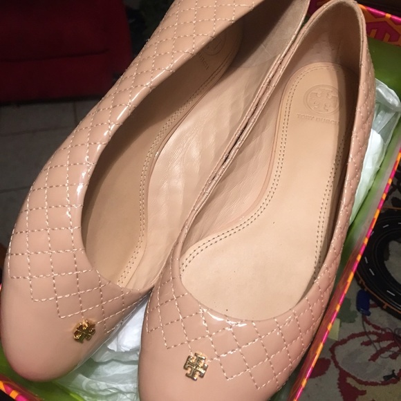 43377031932f Tory Burch Kent quilted Ballet Flat Patent Leather.  M 586b502bd14d7bae85134ca4