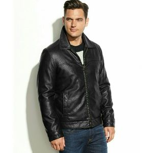 Tommy Hilfiger  Other - New! Tommy Hilfiger Men's Faux Leather Jacket NWT