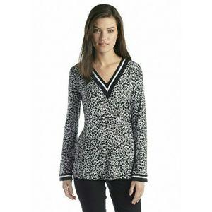 New! MICHAEL KORS Long Sleeve Tunic Top Blouse NWT