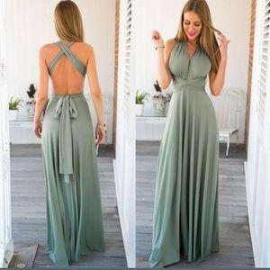 Posh Garden Dresses & Skirts - 🆕2 LEFT🔹M & L🔹Morning Dew Maxi Dress