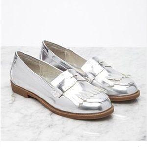 f21 Fringe Loafers