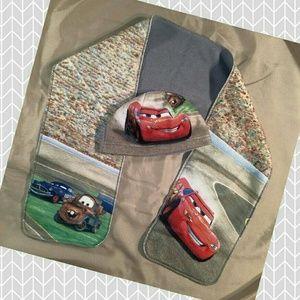 Kids Disney Pixar Cars Lightning McQueen Scarf Set