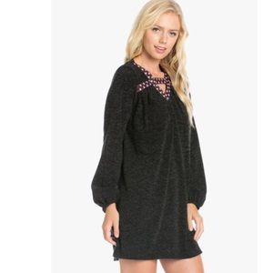 Embroidered Heather Knit Dress.... It's here!