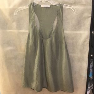 Geren Ford Tops - Geren Ford green tank NWOT
