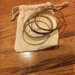 J. Crew Jewelry - J.Crew bangle bracelet set
