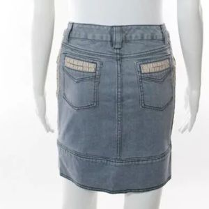 "Mike and Chris Skirts - NWT MIKE & CHIRS ""DALE"" DENIM PENCIL SKIRT"