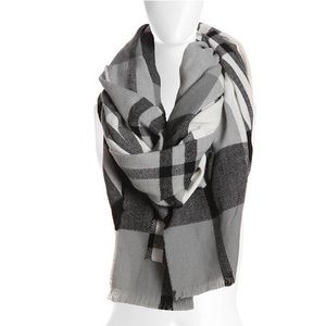 Accessories - | chic blanket cape scarf |