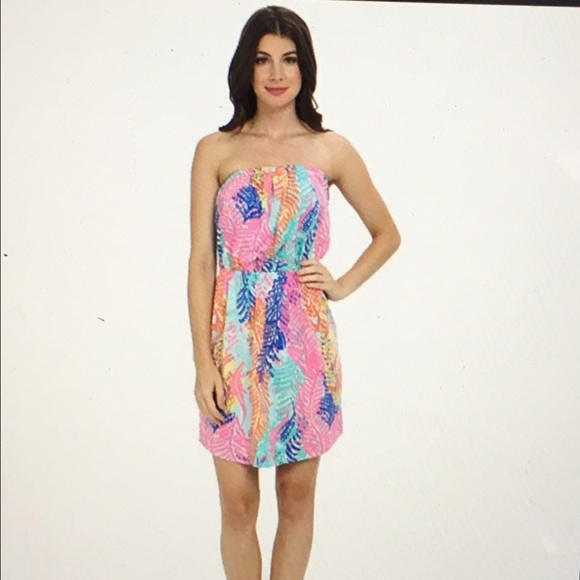 e07483aabef3 Lilly Pulitzer Dresses & Skirts - Lilly Pulitzer Windsor Strapless Pull On  Dress