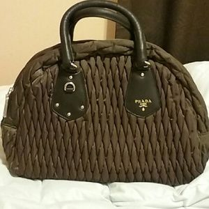 prada Handbags - New Authentic vintage prada vit.daino print