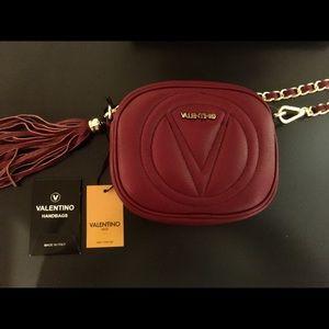 38ca57485 Mario Valentino Bags - Valentino By Mario Valentino Nina Red Crossbody
