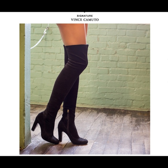 41d4823810181e Vince Camuto Shoes   Over Knee Suede Thigh High Boots   Poshmark