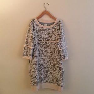 Reiss Dresses & Skirts - Reiss Gray and Cream Sweater Dress