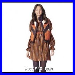 Anna Sui Dresses & Skirts - Anna Sui for Target Peasant Dress