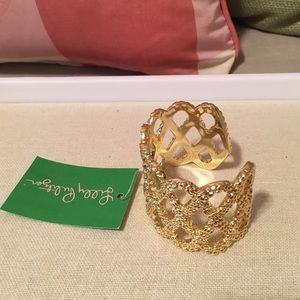 Lilly Pulitzer Jewelry - Lilly Pulitzer Gold Bracelet