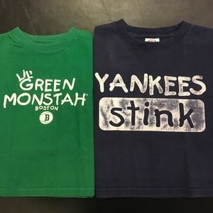 Magnum Other - DELTA MAGNUM Green Monstah Red Sox & Yankees Stink