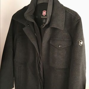 Victorinox Other - Lmt Edition men's victorinox wool blend coat large
