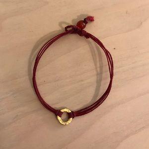 Dogeared Circle Karma Bracelet