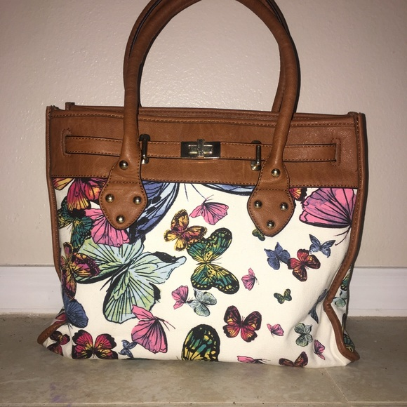 93cddbdea73 Aldo Handbags - Large butterfly print purse