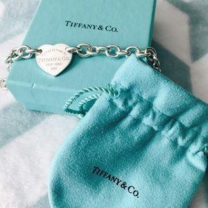 Tiffany & Co. Jewelry - Return to Tiffany Heart Tag Bracelet