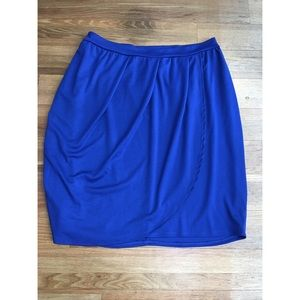 SWAK Dresses & Skirts - Cobalt Blue Plus Size Tulip Skirt -BNWT!