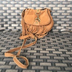 Small top shop fringe cross body bag
