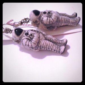 Jewelry - Astronaut earrings