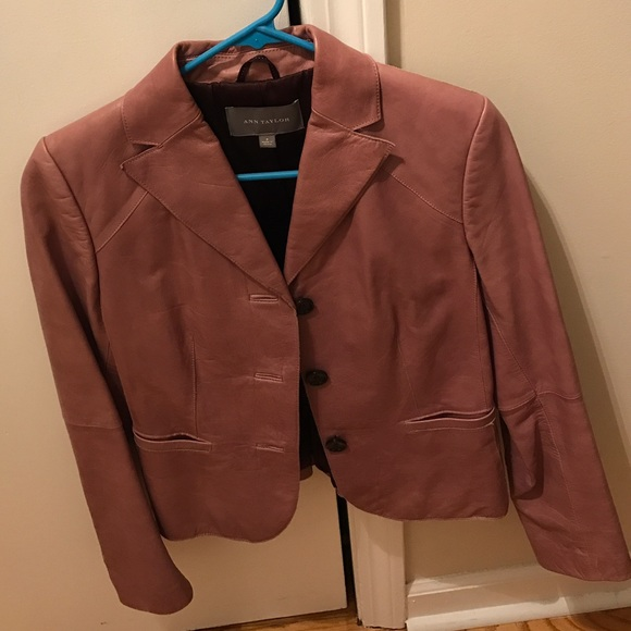 Ann Taylor Jackets & Blazers - Ann Taylor Leather Jacket