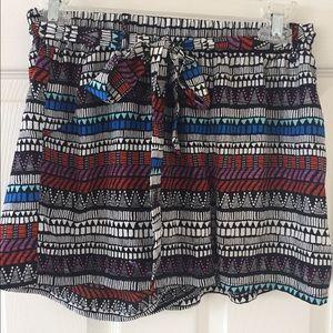 Tilly's Pants - Tribal print shorts