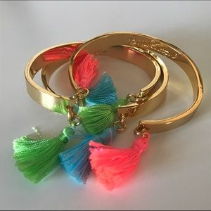 Lilly Pulitzer Jewelry - Lilly Pulitzer Tassel Bracelets (Set of 3)