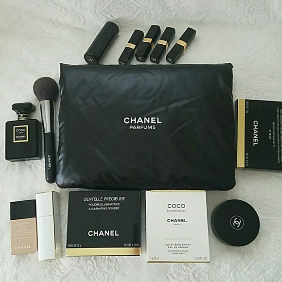 Chanel Bags Authentic Large Pouch For Perfumemakeup