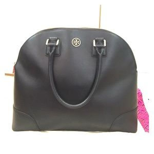 Reserved tory Burch Robinson Dome Satchel (black)