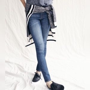 Madewell Denim - Madewell Low Rise Skinny Stretch Jeans, size 0