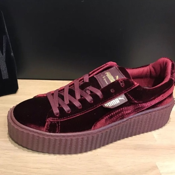 huge discount 8729b c8d1c puma creepers velvet red