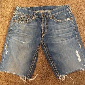 True Religion Other - Men's True Religion Vintage Billy SuperT Shorts 36